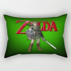Zelda Sword Rectangular Pillow