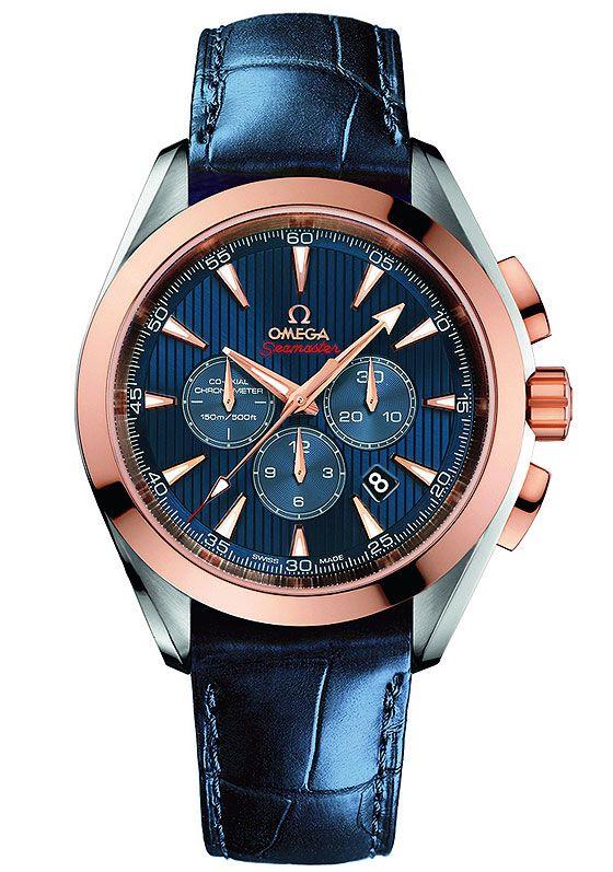 Omega Seamaster Aqua Terra Co-Axial Chronograph for London 2012 Olympic Games