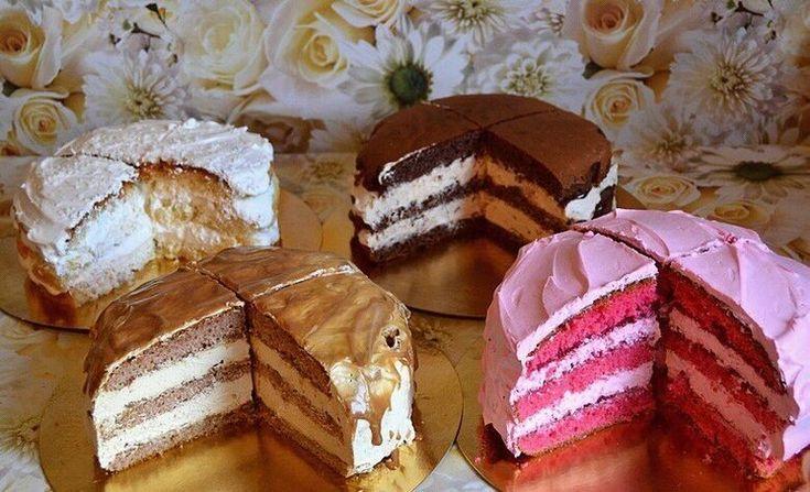 крем начинка для торта