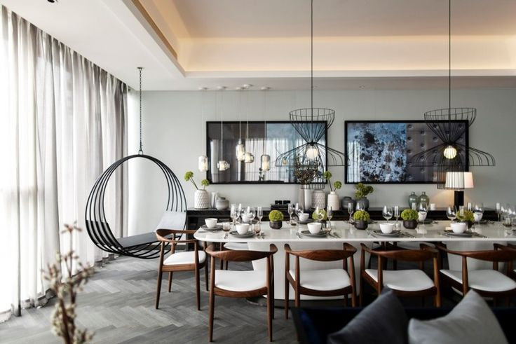 Kelly Hoppen MBE has joined hands with Steve Leung in designing four stylish apartments at One Shenzhen Bay