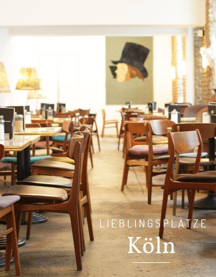 Lieblingsplätze in Köln - Museen, Cafés, Plätze und Läden im Schatten des Doms.