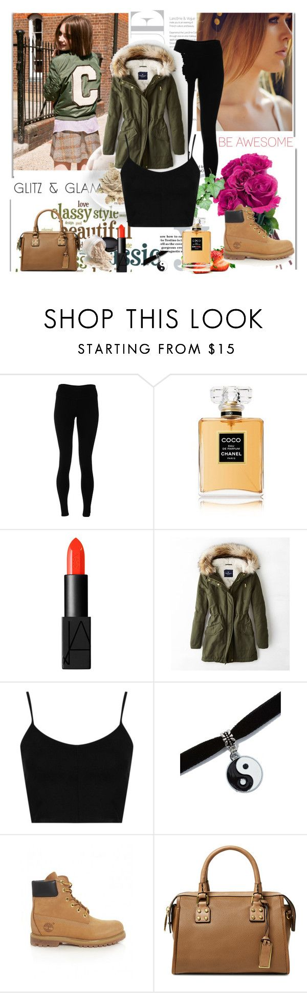 """staying classy"" by rosa-brooks ❤ liked on Polyvore featuring Michael Kors, Marni, Solow, Chanel, NARS Cosmetics, American Eagle Outfitters, Topshop, Timberland, Joy Gryson and 1928"
