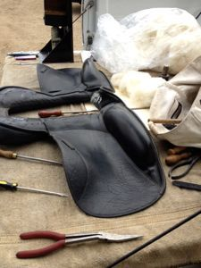 Does your saddle need to be reflocked?  http://www.proequinegrooms.com/index.php/tips/equipment-and-tack/does-your-saddle-need-flocking-or-adjustment/