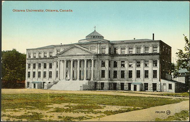 Ottawa University, Ottawa, Canada 1910