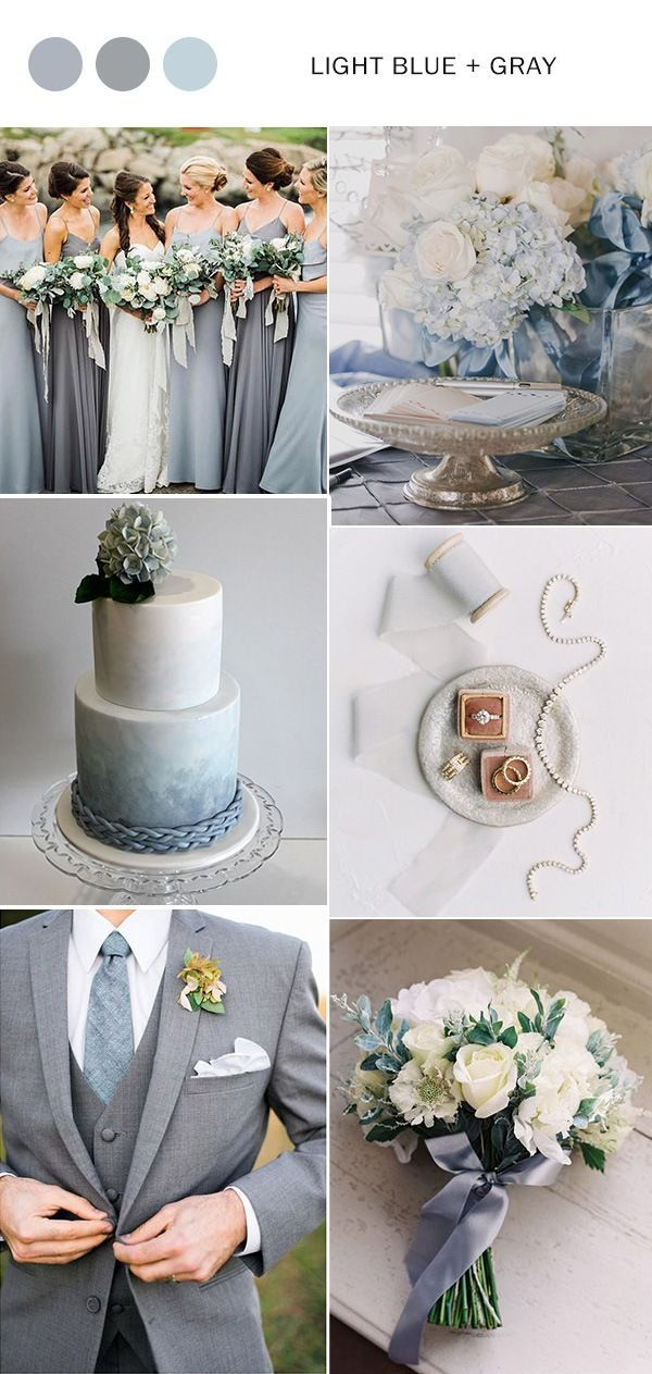 Top 5 Light Blue Wedding Color Ideas For Spring Summer