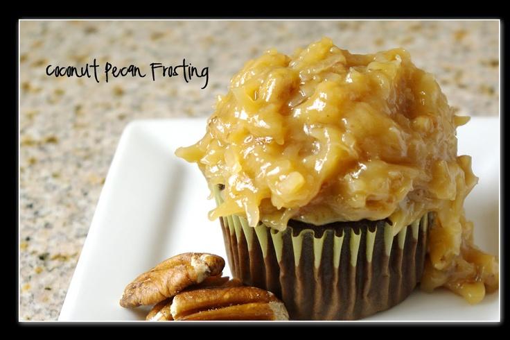 Coconut-Pecan Frosting | Cakes | Pinterest