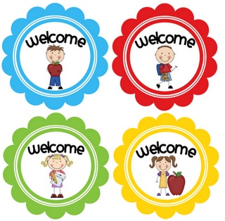Printable tags for welcome back to school! Free :)