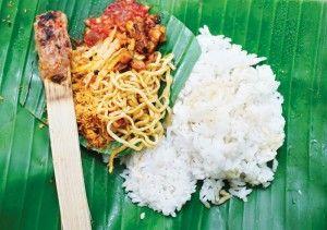 nasi-jinggo- bali traditional