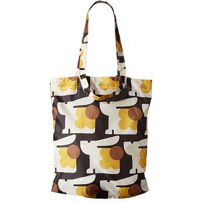 Orla Kiely   USA   Bags   SALE - Bags   Bonnie Bunny Print Packaway Tote (16AEBNY185)   Multi