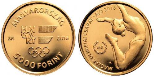 XXXI. Nyári Olimpia - Rio 2016 - Aranyérme