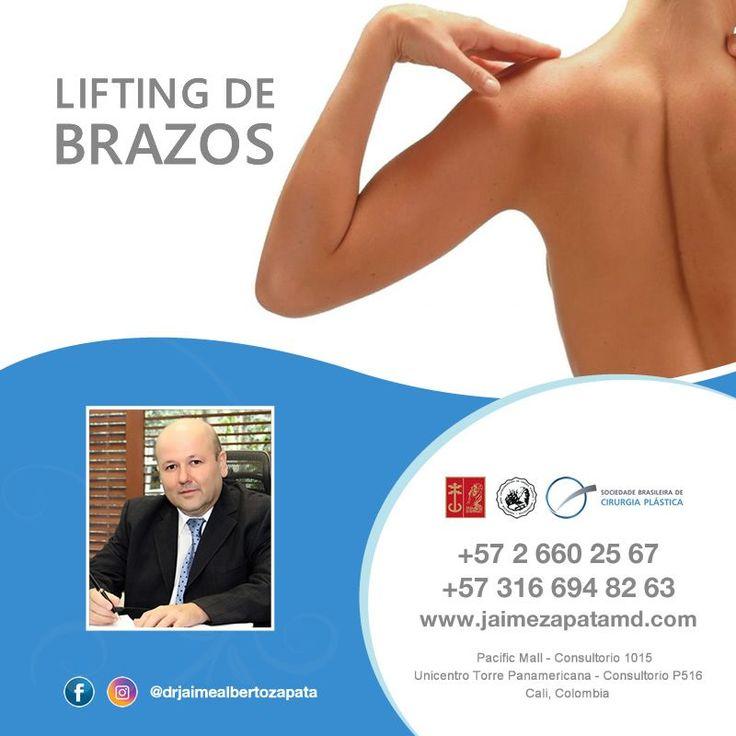 ::: BRAQUIOPLASTIA / LIFTING DE BRAZOS :::  La braquioplastía de brazos puede brindar beneficios no solo estéticos, sino también funcionales. En el exceso de piel caída se forman pliegues que pueden ser sensibles a sarpullidos e irritación, además de ser incómodos y antiestéticos.  Para ti que siempre estas buscando lo mejor, Dr. Jaime Alberto Zapata - Cirujano Plástico  #braquioplastia #liftingdebrazos #liftingbrazos #cirugiaplastica #cirugiaplasticacolombia