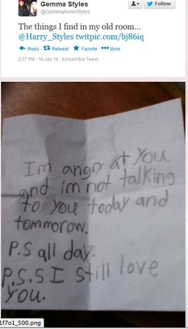 Hahaha oh my gosh... This is too cute. I used to write things like this all the time