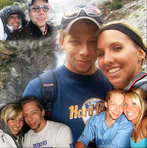 1 year anniversary Couple Photo collage, girlfriend/boyfriend, surprise gift idea..