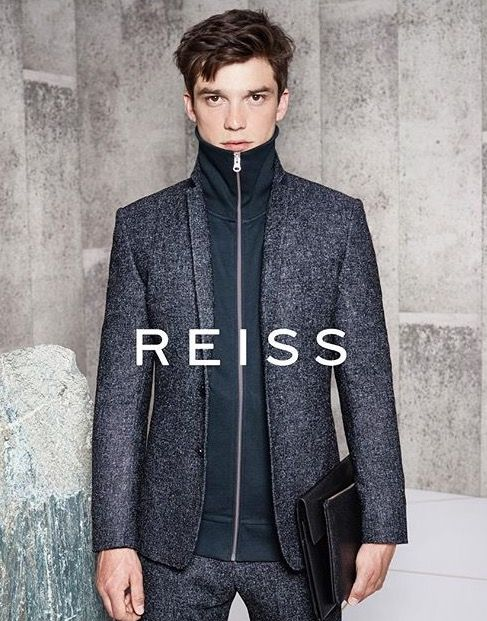 REISS AW16 CAMPAIGN - SET DESIGN by Scarlet Winter - fashion photography, fashion campaign, menswear, concrete, natural stone, rock