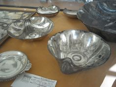 """*POMPEII, ITLAY~Silverware of """"House of Menander"""" at Pompeii, as a matter of fact of Quintus Poppaeus, related to Poppaea - Naples, Archaeological Museum 
