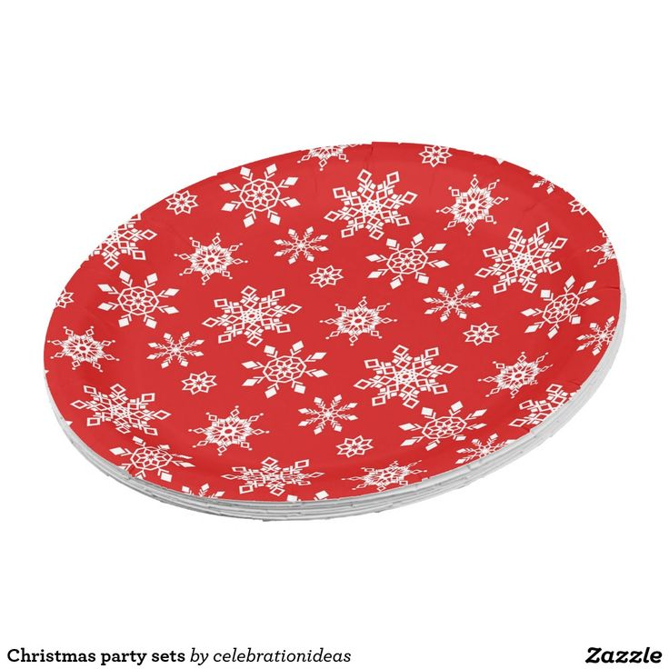 Christmas Party Paper Plates Part - 18: Christmas Party Sets · Christmas PaperChristmas PartiesPaper Plates