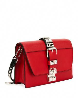 38a93061ebdf Prada Elektra City Calf Saffiano Leather Shoulder Bag  Pradahandbags ...
