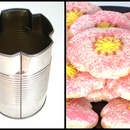 DIY cookie cutter from a soup can: Blossoms Cookies, Tus Ecoidea, Diy Soups, Flowers Clov Cookies, Crafts Projects, Cookies Cutters, Diy Cookies, Simple Flowers Clov, Flowers Cookies