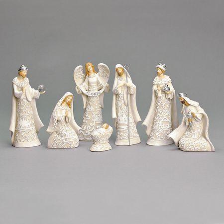 Nativity Set, Papercut Design  7 pieces