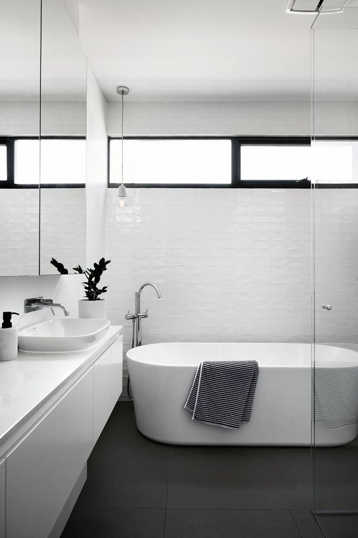 A Contemporary, Monochromatic Home in Melbourne by Sisalla Interior Design - Design Milk