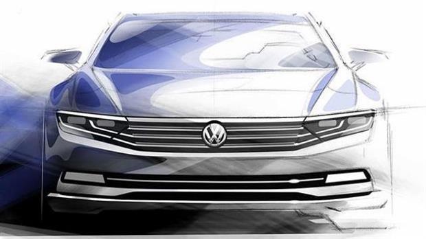 Volkswagen Passat 2015 : une version hybride rechargeable
