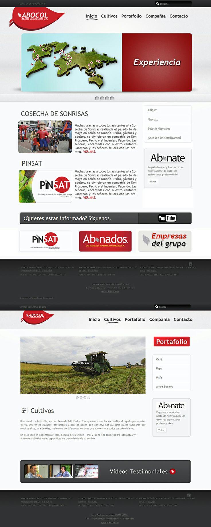 Web Abocol internacional