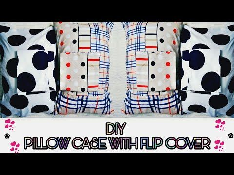 DIY TUTORIAL | PILLOW CASE WITH ENVELOPE COVER