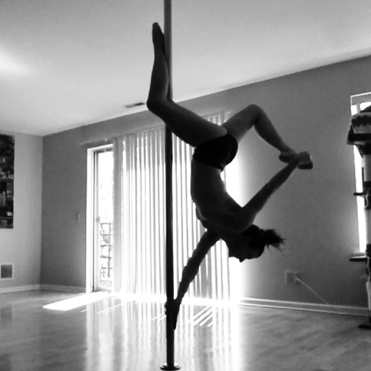 "Poledance, polefitness, one""winged""butterfly"