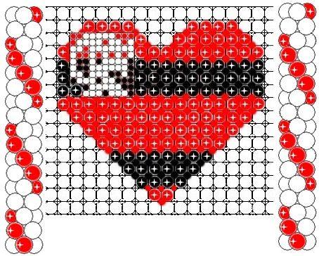 Projeto de balões - Escudo do flamengo em formato de coração /Criação - Rosilene Pereira
