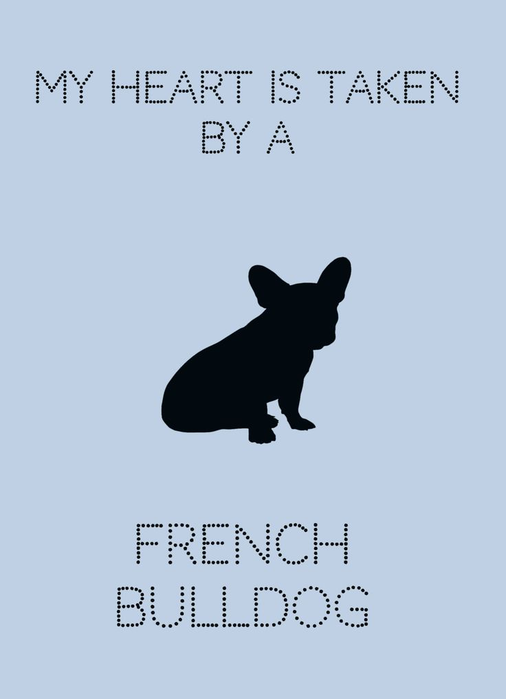 Cute French Bulldog Printable Art My heart is taken by a French Bulldog by TheHomefrontExchange on Etsy