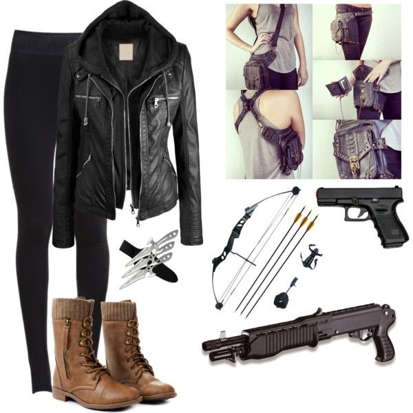 superb zombie apocalypse girl outfit 11