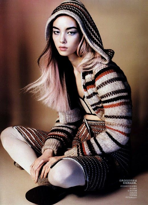 Sun FeiFei  Vogue Oct 2010 2