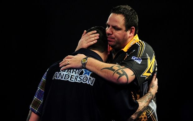 "Gary ""The Flying Scotsman"" Anderson & Adrian ""The Jackpot"" Lewis"
