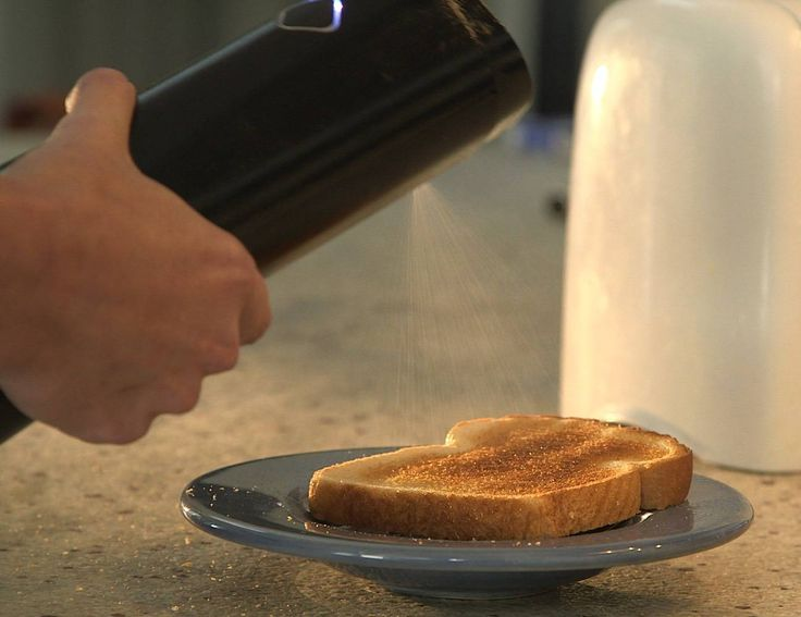 Biem Butter Sprayer Makes Any Block of Butter Sprayable