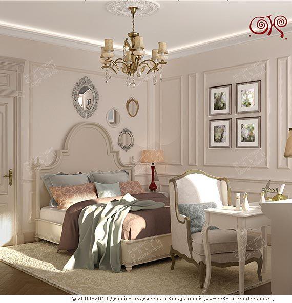Дизайн французской спальни в доме  http://www.ok-interiordesign.ru/blog/dizayn-spalni-2015-foto-sovremennye-idei.html