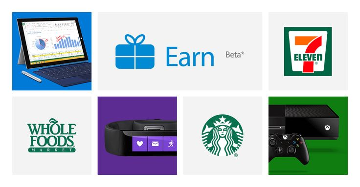 Introducing Earn from Microsoft - Shop at popular retailers and restaurants to Earn discounts at your local Microsoft Store!