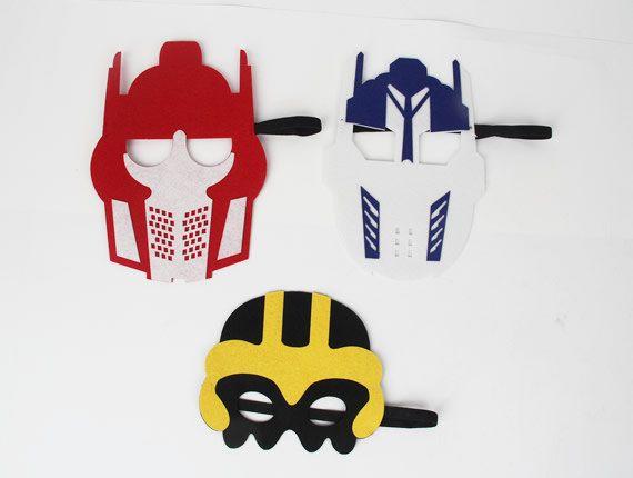 Transformer Mask, Bumble Bee Transformer, Optimus Prime Transformer