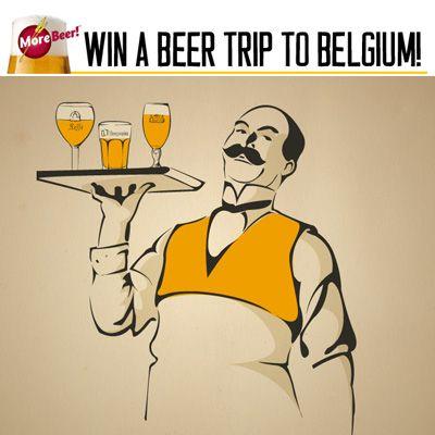 MoreBeer's Belgium Beer Trip Giveaway