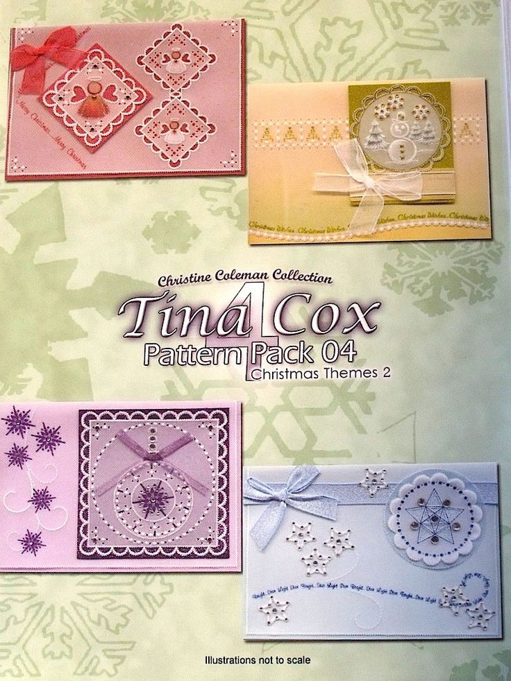 PATTERN PACK 4 - CHRISTMAS THEMES 2 BY TINA COX      Christmas Themes 2 pattern pack designed by Tina Cox.