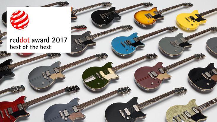 Red Dot Award 2017: best of the best     Yamaha Revstar electric guitar series