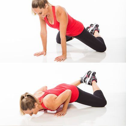 Get strong, sexy, toned arms with a pair of dumbbells and 5 minutes! We show you the best moves to target your shoulders, biceps and triceps so you can lose arm jiggle. These dynamic strengthening moves are an excellent circuit to add to your weekly workout schedule.