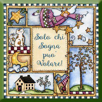 """formella quadrata in legno cm 20x20 """"Una buona giornata comincia con un sorriso!"""" idea regalo per la festa della mamma, artigianato italiano, made in Italy, con frase scritta, spiritosa, fuori stanza, appendi porta, fuori porta, tavola country"""