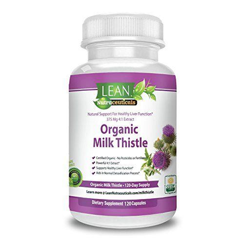 120 Ct 1500mg Pure Organic Milk Thistle Supplement Capsul... https://www.amazon.com/dp/B01L0LS6HQ/ref=cm_sw_r_pi_dp_x_MlhsybKCYMSMA