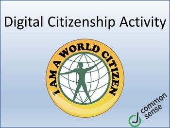 Digital Citizenship Lesson Activity by TechCheck Lessons | Teachers Pay Teachers
