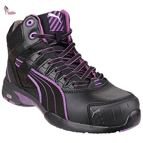 Puma Safety Stepper Mid - Chaussures montantes de sécurité - Femme (42 EUR) (Noir) - Chaussures puma (*Partner-Link)