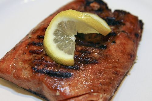 Soy sauce and brown sugar grilled salmon recipe sauces for Soy sauce fish