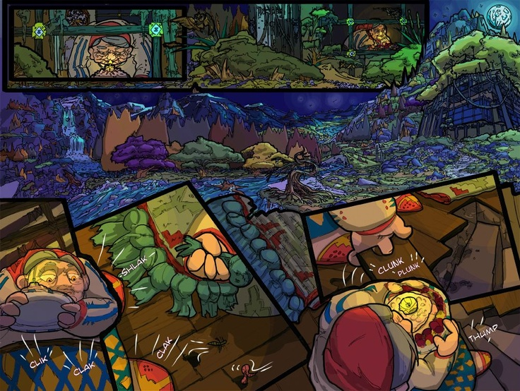 Inquest of Missing Time comic book Vol 1  Pages 4 & 5