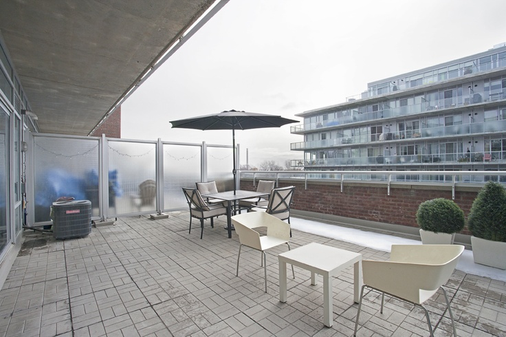 Leslieville Terrace for Sale(and the loft attached to it of course) | Spring Realty