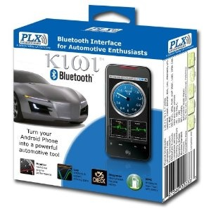 PLX Devices Kiwi Bluetooth Wireless Trip Computer and OBDII Scanner (Automotive)