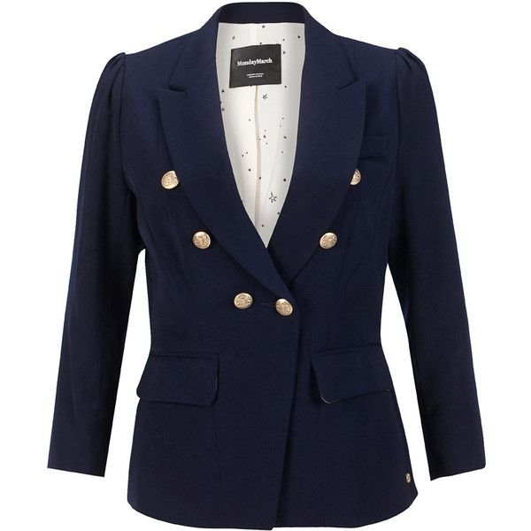 Blazers, Double breasted jackets and Puffer jackets on Pinterest